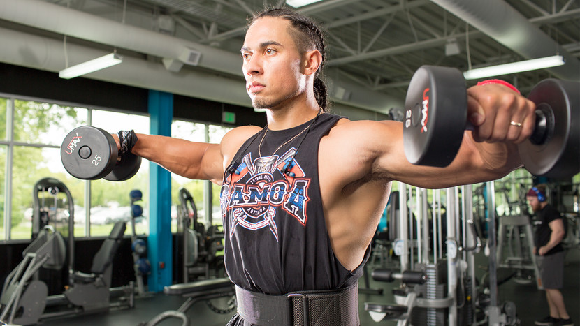 What exercises can help expand your shoulders?