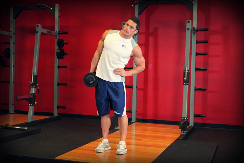 What exercises should be performed to pump oblique muscles?