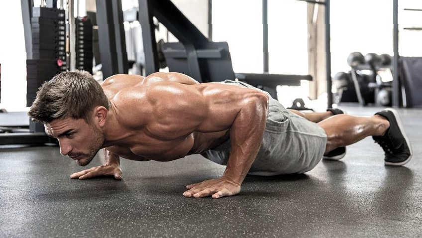 What muscle groups can be pumped up by push-ups and how to do it correctly
