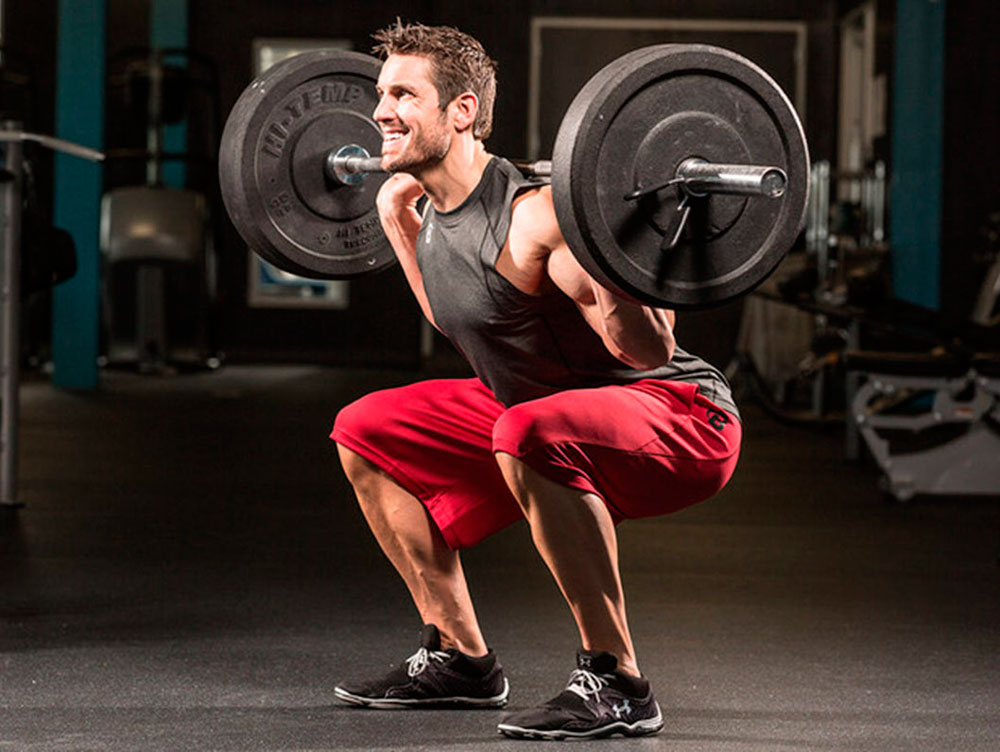 squats with weight